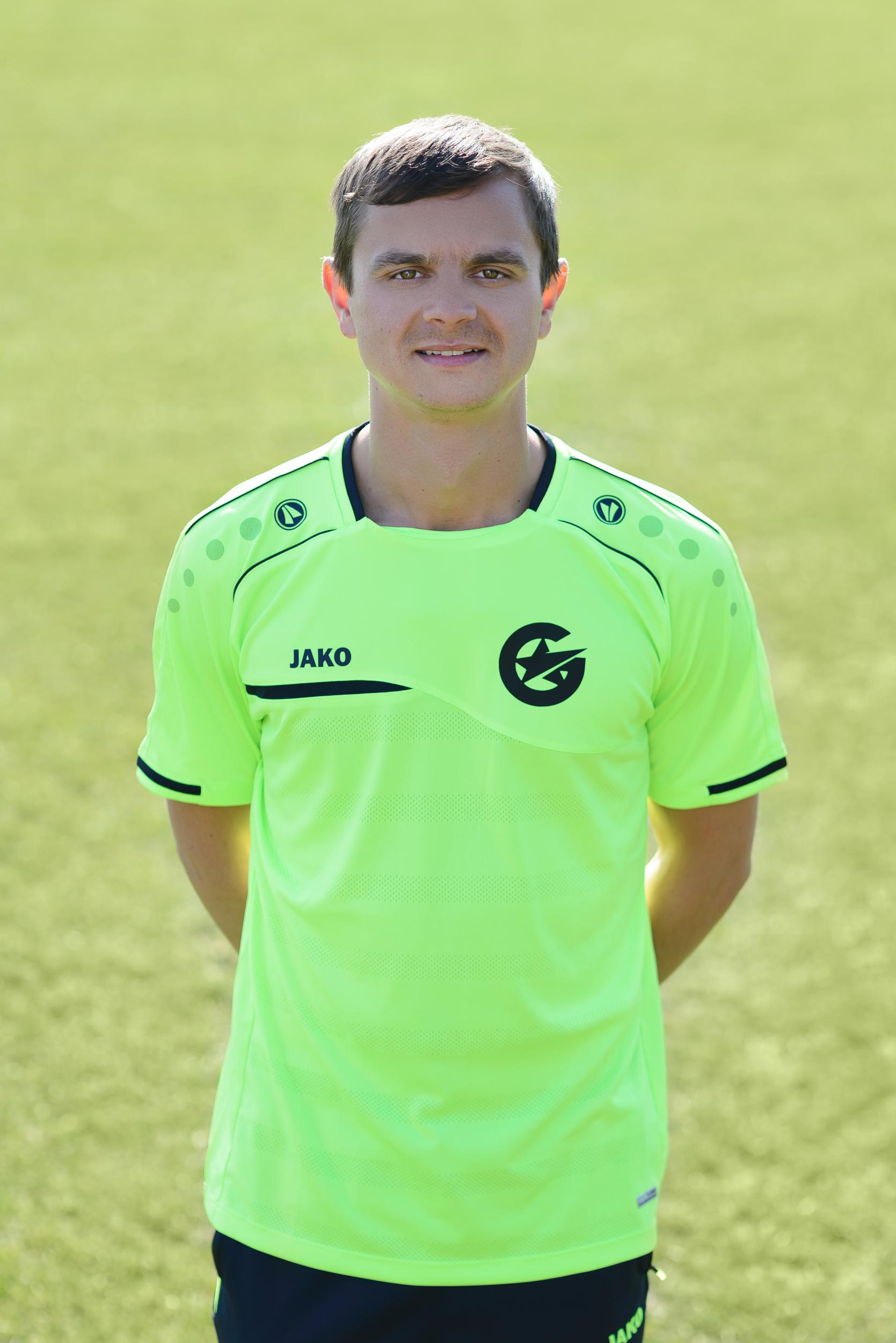 Krzysztof Chlebowski, trening piłkarski